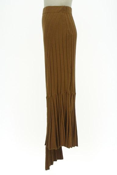 MOUSSY(マウジー)の古着「イレヘム切替リブニットスカート(ロングスカート・マキシスカート)」大画像3へ