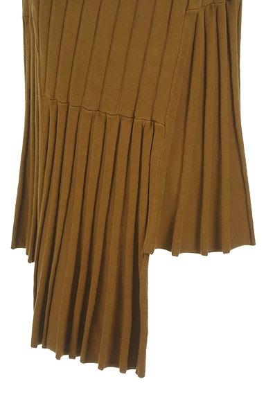 MOUSSY(マウジー)の古着「イレヘム切替リブニットスカート(ロングスカート・マキシスカート)」大画像5へ