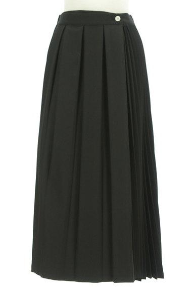 MOUSSY(マウジー)の古着「サイドプリーツロングスカート(ロングスカート・マキシスカート)」大画像1へ