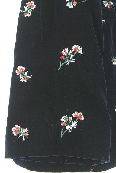 MOUSSY(マウジー)の古着「刺繍ベロアガウンジャケット(ジャケット)」大画像5へ