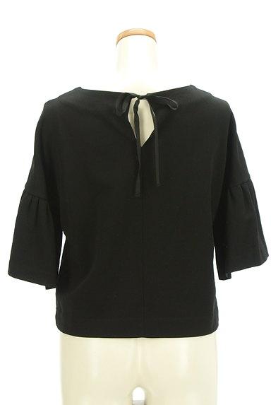 ANTEPRIMA(アンテプリマ)の古着「バックリボン6分袖カットソー(カットソー・プルオーバー)」大画像2へ