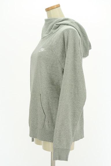 NIKE(ナイキ)の古着「ハイネックフードのパーカー(スウェット・パーカー)」大画像3へ