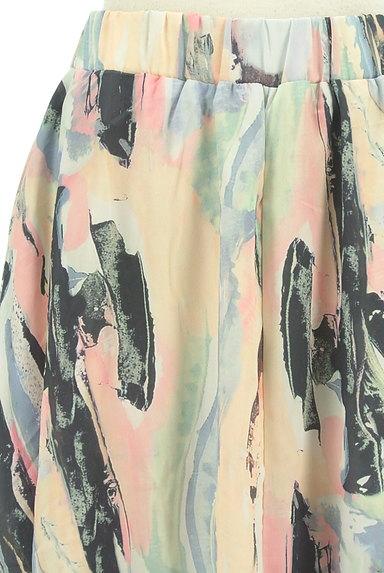 antiqua(アンティカ)の古着「ニュアンス総柄ロングスカート(ロングスカート・マキシスカート)」大画像4へ