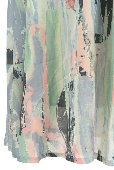 antiqua(アンティカ)の古着「ニュアンス総柄ロングスカート(ロングスカート・マキシスカート)」大画像5へ