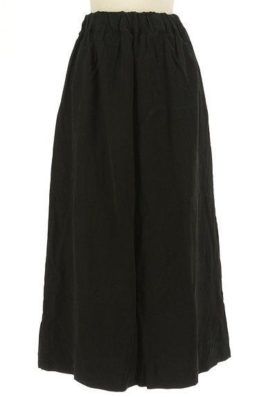 antiqua(アンティカ)の古着「マットな質感のフレアマキシスカート(ロングスカート・マキシスカート)」大画像1へ