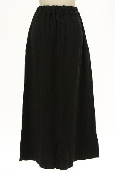 antiqua(アンティカ)の古着「マットな質感のフレアマキシスカート(ロングスカート・マキシスカート)」大画像2へ