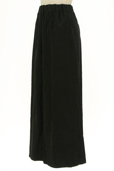 antiqua(アンティカ)の古着「マットな質感のフレアマキシスカート(ロングスカート・マキシスカート)」大画像3へ