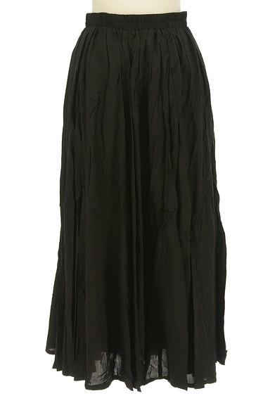antiqua(アンティカ)の古着「ボリュームギャザーロングスカート(ロングスカート・マキシスカート)」大画像2へ