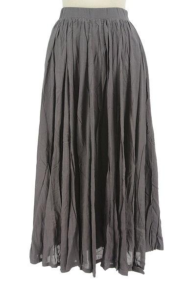 antiqua(アンティカ)の古着「ボリュームギャザーロングスカート(ロングスカート・マキシスカート)」大画像1へ