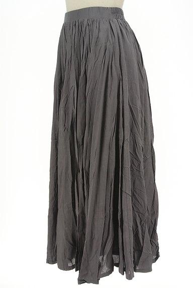 antiqua(アンティカ)の古着「ボリュームギャザーロングスカート(ロングスカート・マキシスカート)」大画像3へ