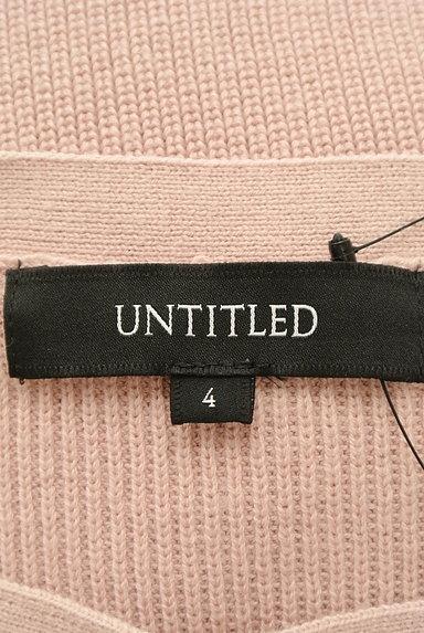UNTITLED(アンタイトル)の古着「ボートネックカラーニット(ニット)」大画像6へ