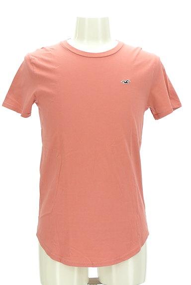 Hollister Co.(ホリスター)の古着「ラウンドヘムアイコン刺繍Tシャツ(Tシャツ)」大画像1へ