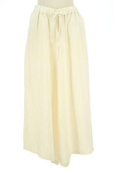 SM2(サマンサモスモス)の古着「リネン混のワイドパンツ(パンツ)」大画像1へ