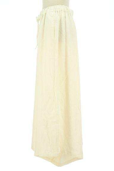 SM2(サマンサモスモス)の古着「リネン混のワイドパンツ(パンツ)」大画像3へ