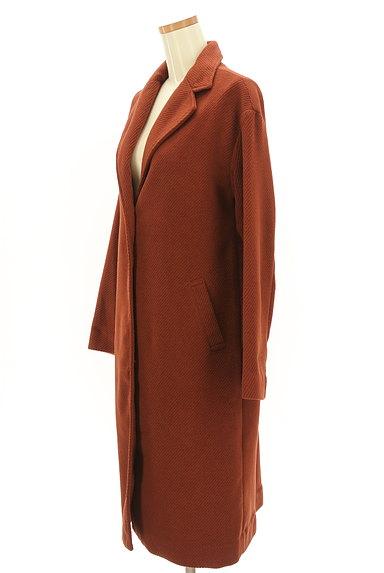 SM2(サマンサモスモス)の古着「コーデュロイロングコート(コート)」大画像3へ