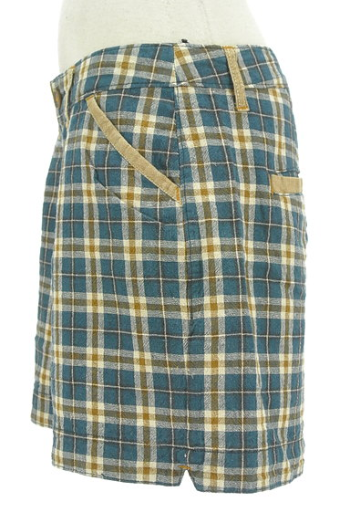 coen(コーエン)の古着「コットンリネン柄ショートパンツ(ショートパンツ・ハーフパンツ)」大画像3へ