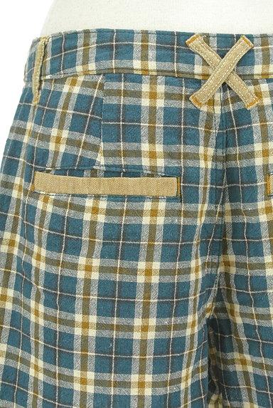 coen(コーエン)の古着「コットンリネン柄ショートパンツ(ショートパンツ・ハーフパンツ)」大画像5へ