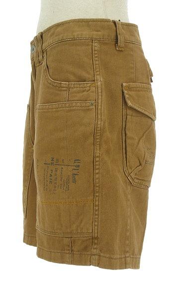CUBE SUGAR(キューブシュガー)の古着「ロゴプリントショートパンツ(ショートパンツ・ハーフパンツ)」大画像3へ