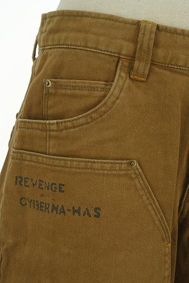 CUBE SUGAR(キューブシュガー)の古着「ロゴプリントショートパンツ(ショートパンツ・ハーフパンツ)」大画像4へ