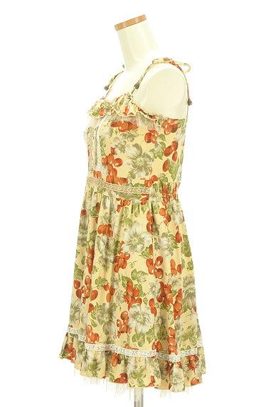 axes femme(アクシーズファム)の古着「フルーツ柄キャミワンピース(キャミワンピース)」大画像3へ