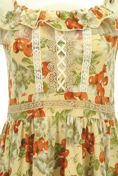 axes femme(アクシーズファム)の古着「フルーツ柄キャミワンピース(キャミワンピース)」大画像5へ