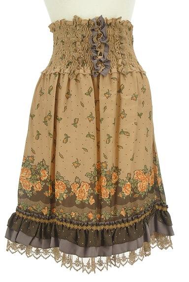 axes femme(アクシーズファム)の古着「アンティーク花柄レーススカート(スカート)」大画像1へ