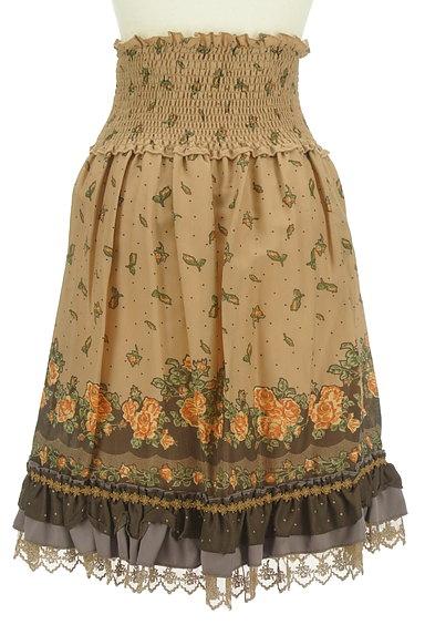 axes femme(アクシーズファム)の古着「アンティーク花柄レーススカート(スカート)」大画像2へ