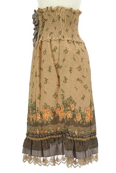 axes femme(アクシーズファム)の古着「アンティーク花柄レーススカート(スカート)」大画像3へ