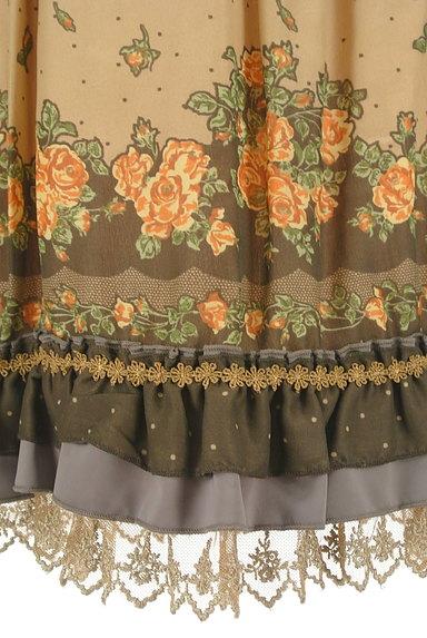 axes femme(アクシーズファム)の古着「アンティーク花柄レーススカート(スカート)」大画像5へ