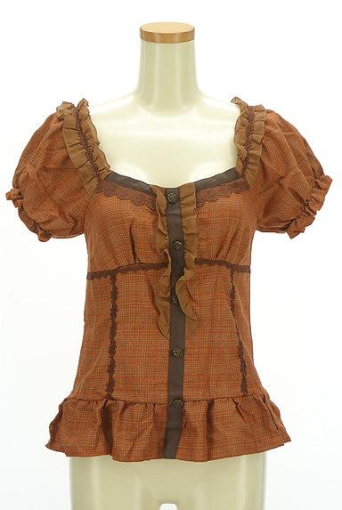 axes femme(アクシーズファム)の古着「裾フリルペプラムカットソー(カットソー・プルオーバー)」大画像1へ