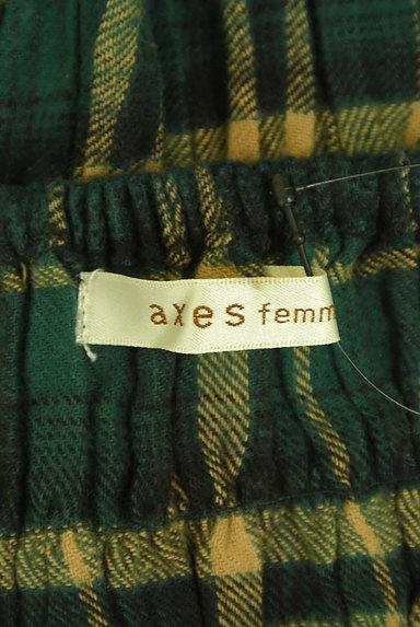 axes femme(アクシーズファム)の古着「チェック×レースのカットソー(カットソー・プルオーバー)」大画像6へ