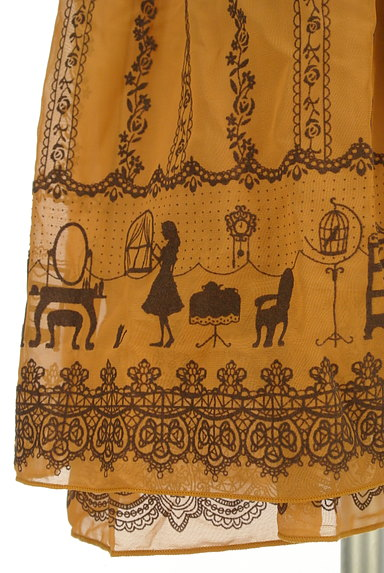 axes femme(アクシーズファム)の古着「オリエンタル柄キャミワンピ(キャミソール・タンクトップ)」大画像5へ