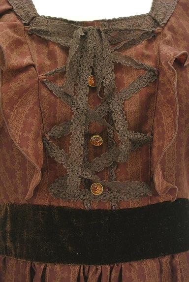 axes femme(アクシーズファム)の古着「アンティーク柄クラシカルワンピ(ワンピース・チュニック)」大画像4へ