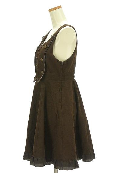 axes femme(アクシーズファム)の古着「エンブレムボタンのミニワンピ(ワンピース・チュニック)」大画像3へ