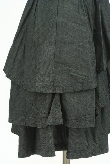 axes femme(アクシーズファム)の古着「イレヘムティアードミニワンピ(キャミワンピース)」大画像5へ