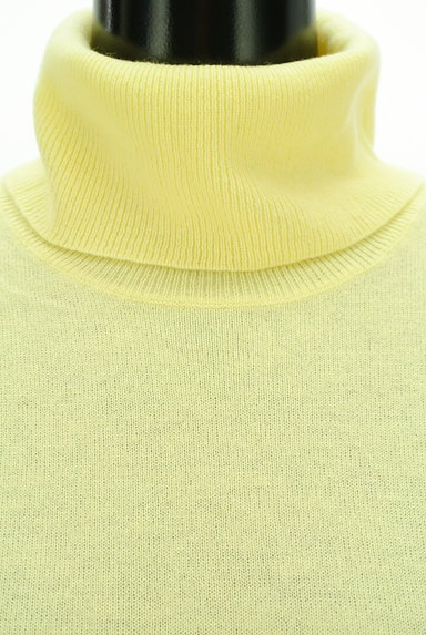 LAUTREAMONT(ロートレアモン)の古着「カラータートルネックカシミヤニット(ニット)」大画像4へ