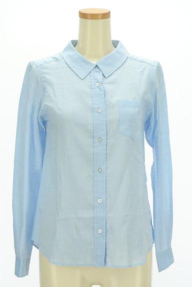 MISCH MASCH(ミッシュマッシュ)の古着「シアーカラーシャツ(カジュアルシャツ)」大画像1へ