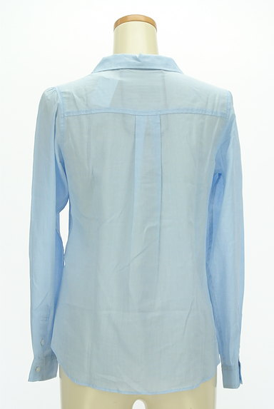 MISCH MASCH(ミッシュマッシュ)の古着「シアーカラーシャツ(カジュアルシャツ)」大画像2へ