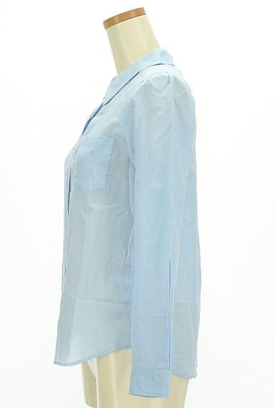 MISCH MASCH(ミッシュマッシュ)の古着「シアーカラーシャツ(カジュアルシャツ)」大画像3へ