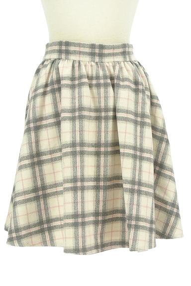 LODISPOTTO(ロディスポット)の古着「ふわっとチェック柄フレアスカート(スカート)」大画像1へ