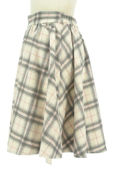 LODISPOTTO(ロディスポット)の古着「ふわっとチェック柄フレアスカート(スカート)」大画像3へ