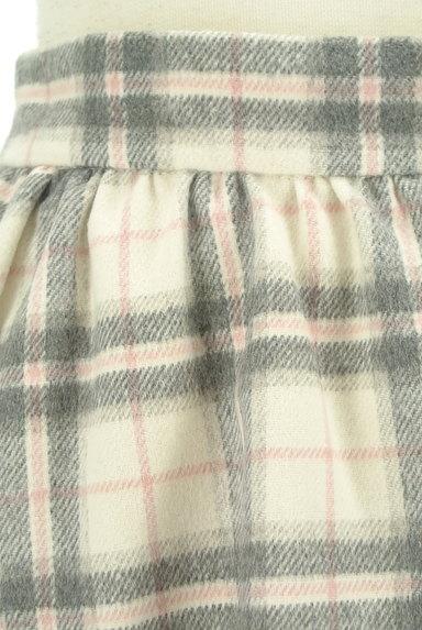 LODISPOTTO(ロディスポット)の古着「ふわっとチェック柄フレアスカート(スカート)」大画像4へ