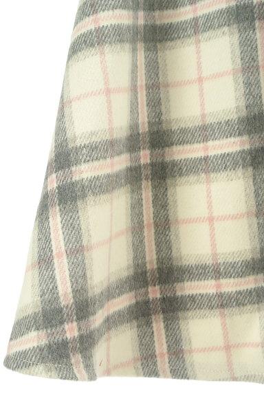 LODISPOTTO(ロディスポット)の古着「ふわっとチェック柄フレアスカート(スカート)」大画像5へ