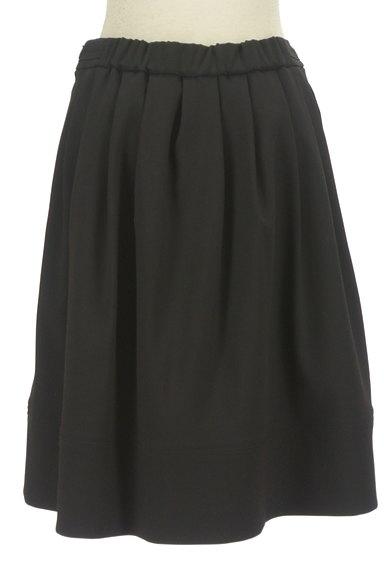 m's select(エムズセレクト)の古着「ミディ丈タックフレアスカート(スカート)」大画像2へ