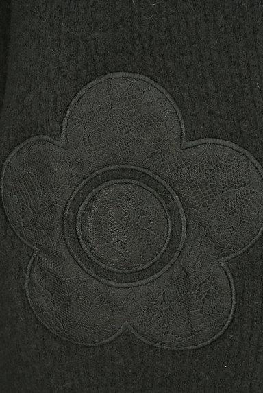MARY QUANT(マリークワント)の古着「レース花モチーフタートルネックニットワンピ(ワンピース・チュニック)」大画像5へ