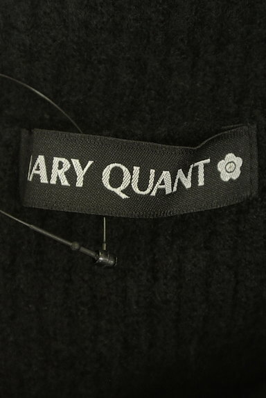 MARY QUANT(マリークワント)の古着「レース花モチーフタートルネックニットワンピ(ワンピース・チュニック)」大画像6へ