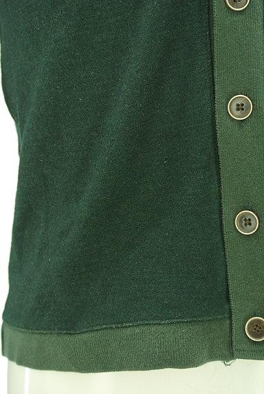 SHIPS(シップス)の古着「ウッド調ボタンの切替カーディガン(カーディガン)」大画像5へ