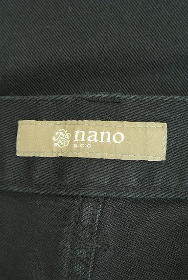 nano・universe(ナノユニバース)の古着「シンプルストレートパンツ(デニムパンツ)」大画像6へ