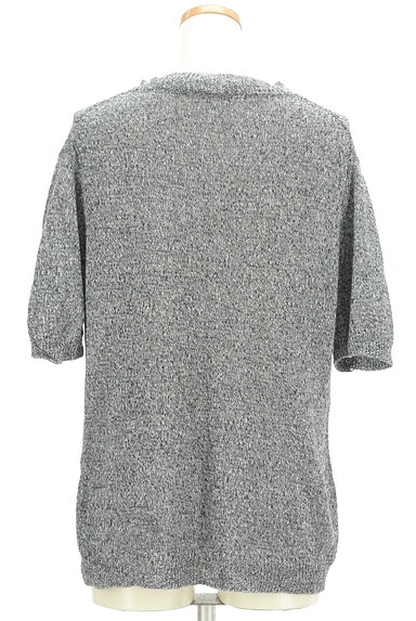 URBAN RESEARCH(アーバンリサーチ)の古着「5分袖モックネック麻綿ニット(ニット)」大画像2へ