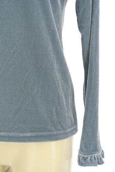 axes femme(アクシーズファム)の古着「カメオネックレス付きフリルカットソー(カットソー・プルオーバー)」大画像5へ